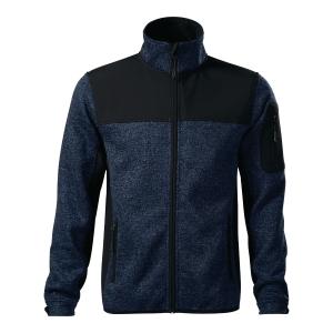 Bluza softshell MALFINI PREMIUM Casual 550, niebieska, rozmiar L