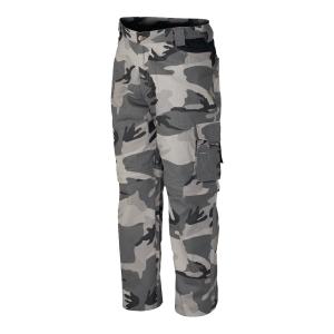 Spodnie INDUSTRIAL STARTER Zip 8029N, szare moro, rozmiar XL
