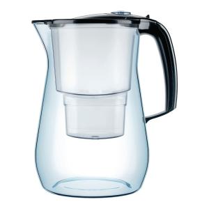 Dzbanek filtrujący wodę AQUAPHOR Onyx 4,2 l + 3 wkłady filtrujące, czarny
