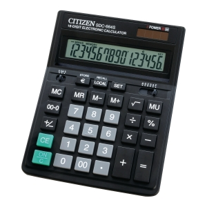 CITIZEN SDC664S CALCULATOR 16-DIGITS