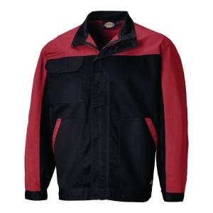 Bluza DICKIES Everyday ED 24/7, czarno-czerwona, rozmiar 4XL