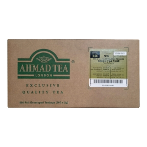 Herbata zielona AHMAD TEA LONDON Green Tea Pure, 500 kopert