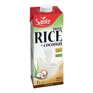 Napój SANTE Ryżowo-Kokosowy bez dodatku cukru, 1 l