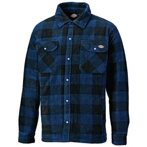 Koszula ocieplana DICKIES PORTLAND, niebieska, rozmiar S
