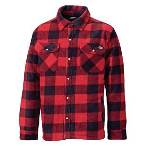 Koszula ocieplana DICKIES PORTLAND, czerwona, rozmiar L