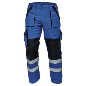 Spodnie ocieplane CERVA MAX WINTER REFLEX, niebiesko-czarne, rozmiar 56