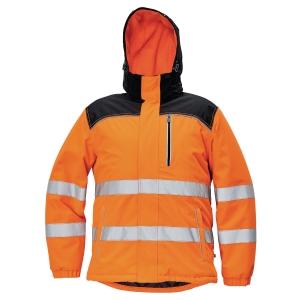 Kurtka ostrzegawcza CERVA KNOXFIELD, pomarańczowa, rozmiar M