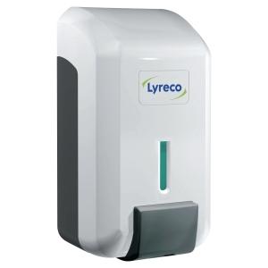 Dozownik do mydła w płynie LYRECO, 0,7 l,  biało-szary