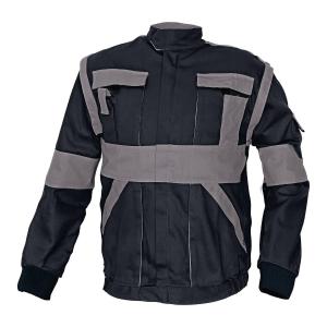 Bluza CERVA Max Classic, czarno-szara, rozmiar 62