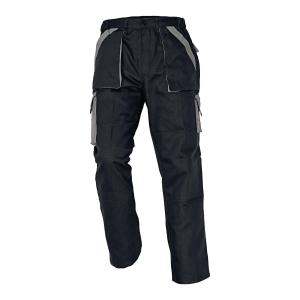Spodnie CERVA Max Classic, czarno-szare, rozmiar 64
