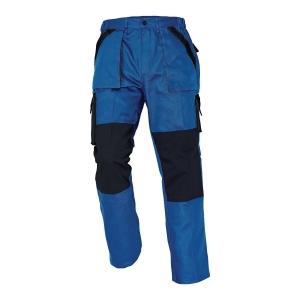 Spodnie CERVA Max Classic, niebiesko-czarne, rozmiar 62