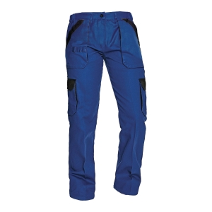 Spodnie CERVA Max Lady, niebiesko-czarne, rozmiar 34
