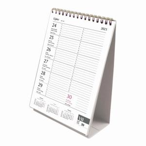 Kalendarz biurkowy MICHALCZYK&PROKOP, ze spiralką pionowy