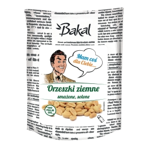 Orzechy ziemne prażone, solone BAKAL Vintage, 150 g
