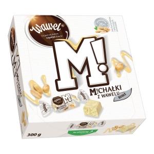 Cukierki Michałki Białe WAWEL, 300 g