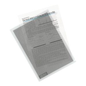 Ofertówka kamuflażowa PLUS JAPAN A4 do ochrony danych, A4, 5 sztuk