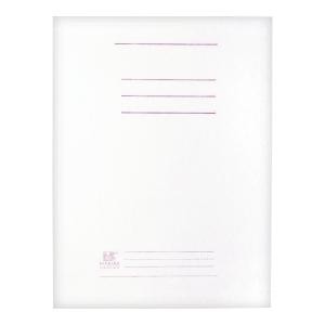 Skoroszyt kartonowy BARBARA A4 300 g/m² biały