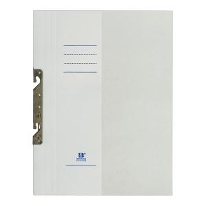 Skoroszyt z zawieszką BARBARA, połówka A4, 250 g/m², biały