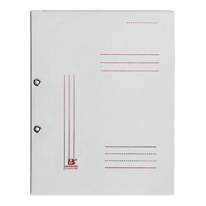 Skoroszyt oczkowy BARBARA, pełna okładka A4, 300 g/m², biały