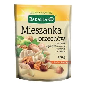 Mieszanka orzechów BAKALLAND, 100 g