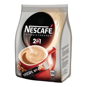 Kawa rozpuszczalna NESCAFÉ 2in1 Coffee & Creamer, 10 saszetek po 18 g
