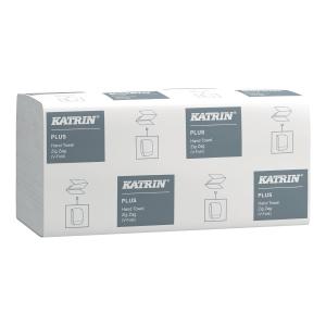 Ręczniki papierowe KATRIN CLASSIC składka V, 20 x 200 listków