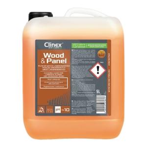 Płyn do mycia podłóg laminowanych oraz drewnianych CLINEX Wood&Panel, 5 l