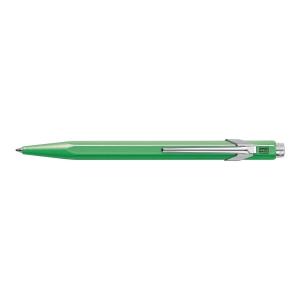 Długopis CARAN D ACHE 849 zielony, wkład niebieski*