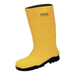 Kalosze PPO 2051 S5 CI SRC, żółte, rozmiar 36/37
