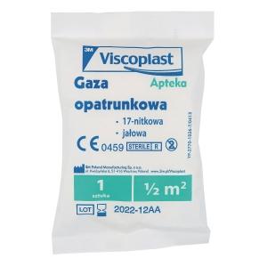 VISCOPLAST ANTISEPTIC GAZUE 0.5M