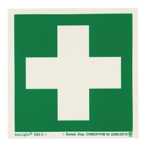 FIRST AID POINT SIGN 150X150MM
