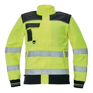 Bluza ostrzegawcza CERVA Knoxfield HI-VIS, żółta, rozmiar 50
