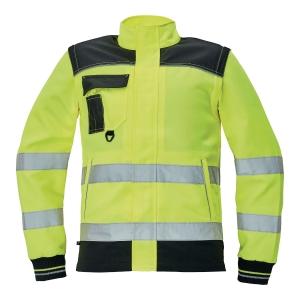 Bluza ostrzegawcza CERVA Knoxfield HI-VIS, żółta, rozmiar 56