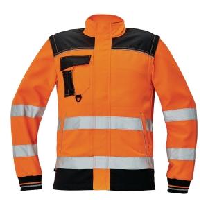 Bluza ostrzegawcza CERVA Knoxfield HI-VIS, pomarańczowa, rozmiar 46
