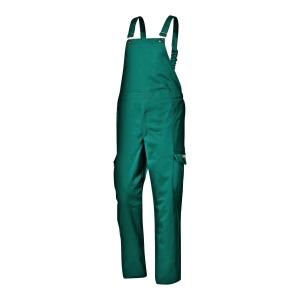 Ogrodniczki SIR SAFETY SYSTEM Flame Retardant, zielone, rozmiar 58