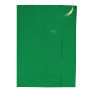 Teczka z gumka BIGO Lux, A4, zielona