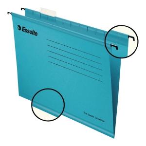 Teczka zawieszkowa Esselte Pendaflex niebieska, opakowanie 25 sztuk