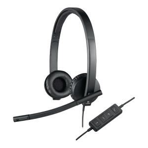 Zestaw słuchawkowy LOGITECH H570E