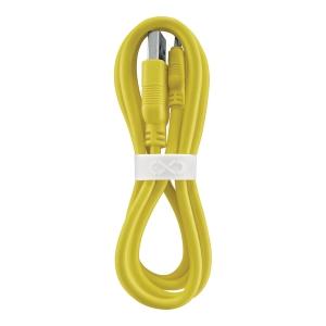 Uniwersalny kabel micro USB  eXc WHIPPY, 0.9m, żółty