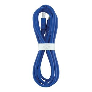 Uniwersalny kabel micro USB eXc WHIPPY, 2m, granatowy