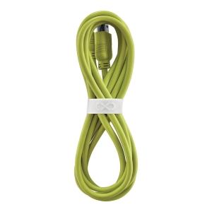 Uniwersalny kabel USB2.0 do USB-C eXc WHIPPY, 2m, limonkowy