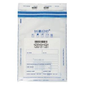 Koperty bezpieczne BAG 4 MONEY B4 przezroczyste, 100 sztuk
