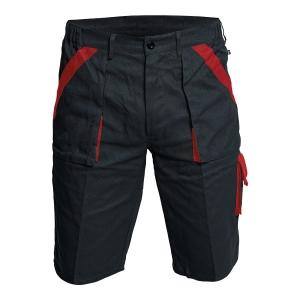 Szorty CERVA MAX , czarno - czerwone, rozmiar 48