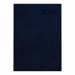 Kalendarz TOP-2000 Basic A5, dzienny, granatowy