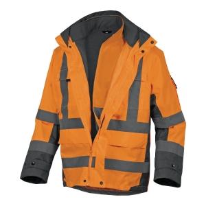 Kurtka ostrzegawcza DELTA PLUS TARMAC, pomarańczowa, rozmiar S