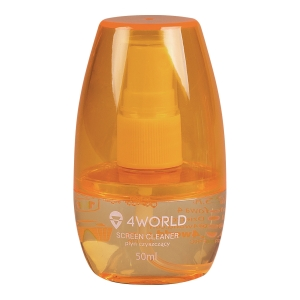 4WORLD SCREEN CLEANER 50ML ORANGE