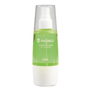 4WORLD SCREEN CLEANER 100ML GREEN