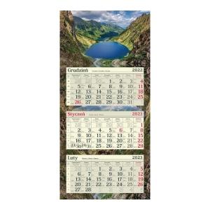 Kalendarz CRUX Natura A4, tygodniowy, zielony