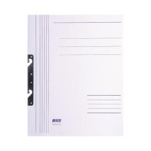 Skoroszyt BIGO kartonowy z zawieszką - pełna okładka