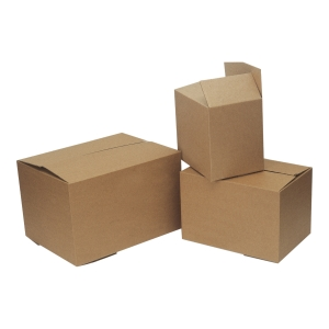 PACKING BOX SMALL 305X225X290 C/BOARD GR